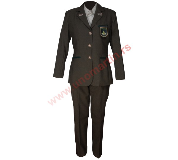 Female foresters uniform SRS