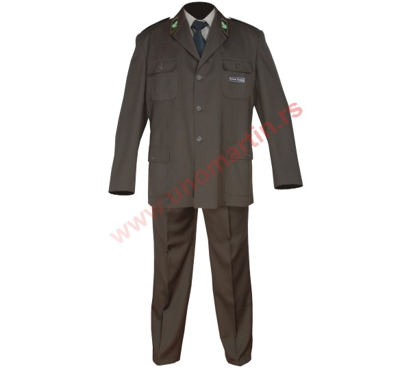 Uniform for the forest guards