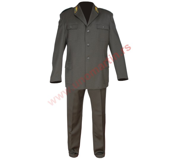 The official forester uniform SRS